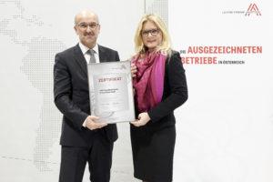Leitbetrieb-Zertifizierung 2017